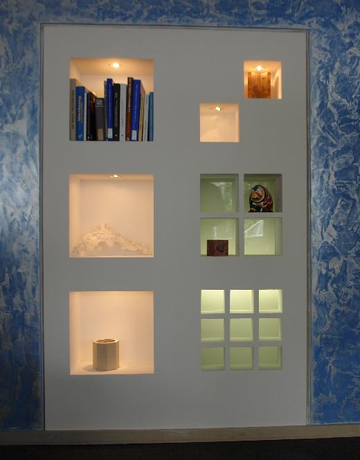 nischenm bel. Black Bedroom Furniture Sets. Home Design Ideas